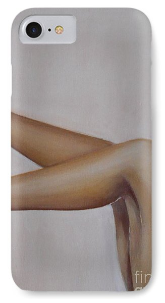 IPhone Case featuring the painting Sassy by Jane  See