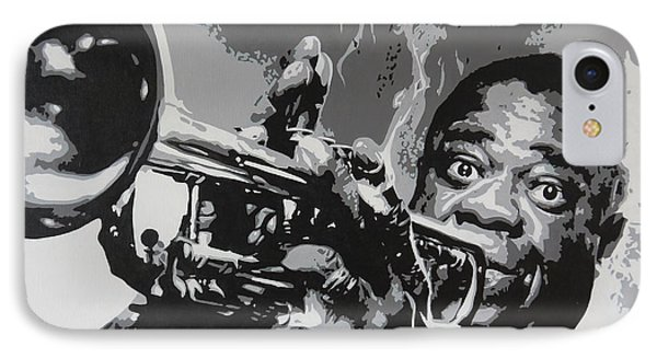 Tribute To Satchmo IPhone Case