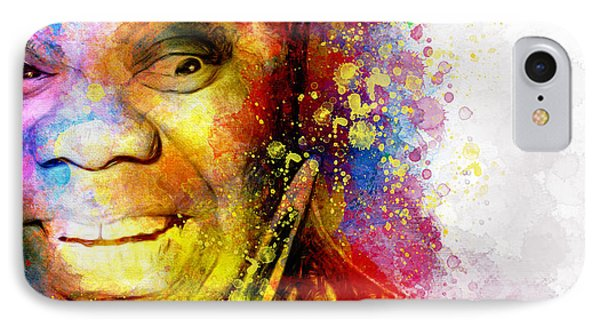 Satchmo Louis Armstrong IPhone Case by Shanina Conway