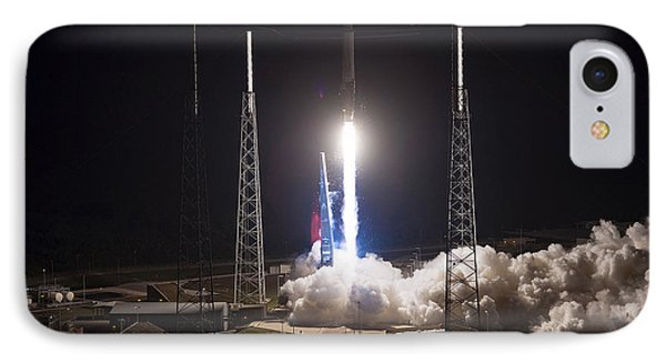 Satellite Launch Phone Case by Movie Poster Prints