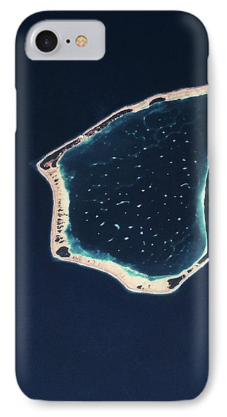 Satellite View Of A Group Of Islands IPhone Case