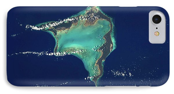 Satellite View Of Crooked Island IPhone Case