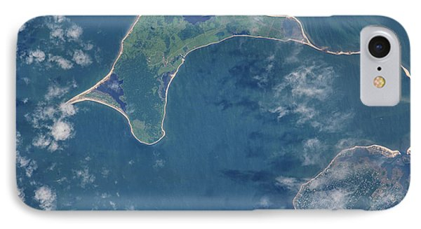 Satellite View Of Gardiners Island IPhone Case