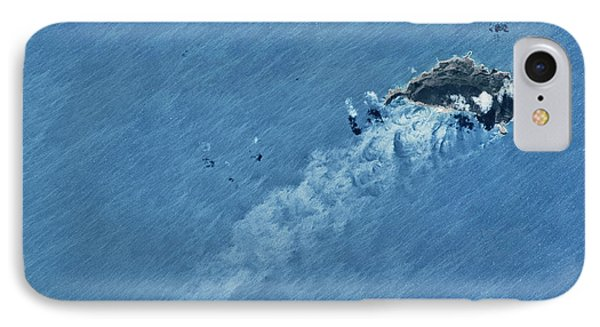 Satellite View Of Island IPhone Case