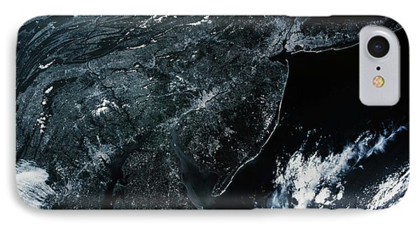 Satellite View Of New Jersey, Usa IPhone Case