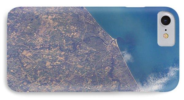 Satellite View Of St. Joseph Area Phone Case by Stocktrek Images