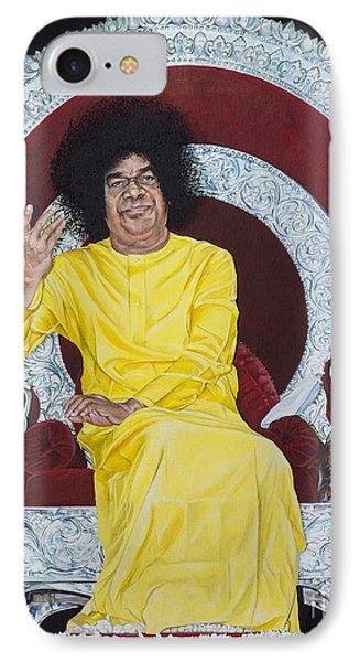 Sathya Sai Baba  IPhone Case by Tim Gainey