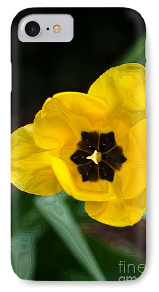 Satin Tulip Phone Case by Lois Bryan