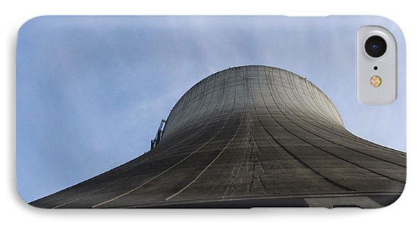 Satsop Tower IPhone Case by Suzanne Lorenz