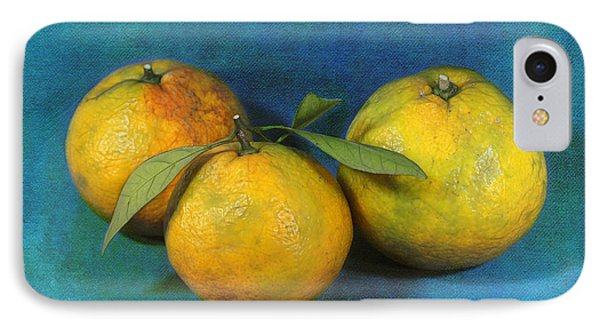 Satsumas Phone Case by Judi Bagwell