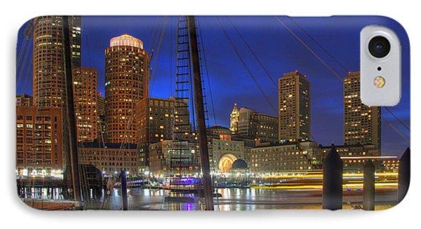 Saturday Night Boston Hustle Phone Case by Joann Vitali