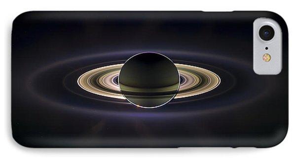 Saturn IPhone Case by Adam Romanowicz