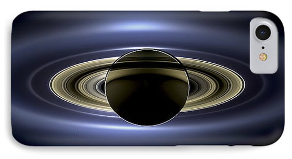 Saturn Mosaic With Earth IPhone Case