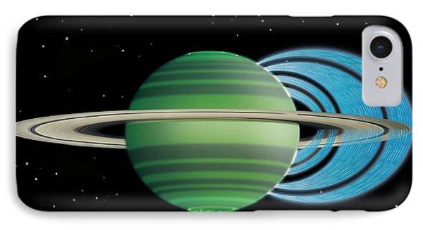 Saturn's Ring 'rain' IPhone Case