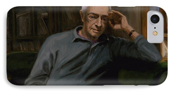 Saul Bellow IPhone Case by Sarah Yuster