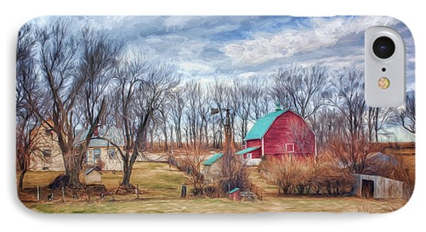 Saunders County Farm 1 IPhone Case