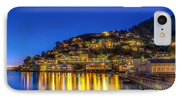 Sausalito Evening Reflections IPhone Case by Michael Filippoff