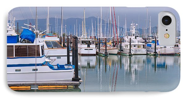 Sausalito Harbor California IPhone Case by Marianne Campolongo