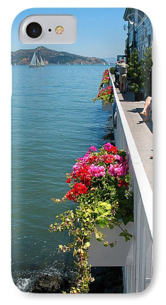 Sausalito Leisure IPhone Case by Connie Fox
