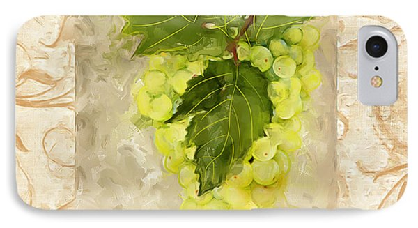 Sauvignon Blanc II IPhone Case by Lourry Legarde