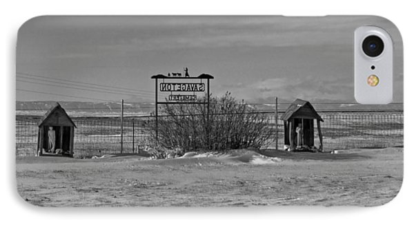 IPhone Case featuring the photograph Savageton Cemetery  Wyoming by Cathy Anderson