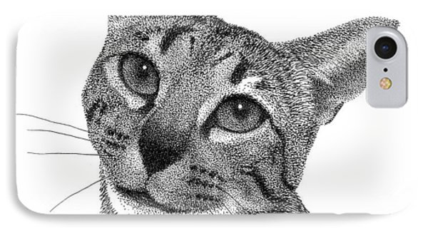 Savannah Cat IPhone Case