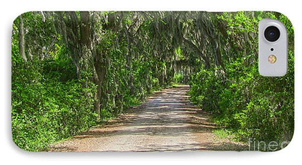 Savannah Country Road IPhone Case by D Wallace