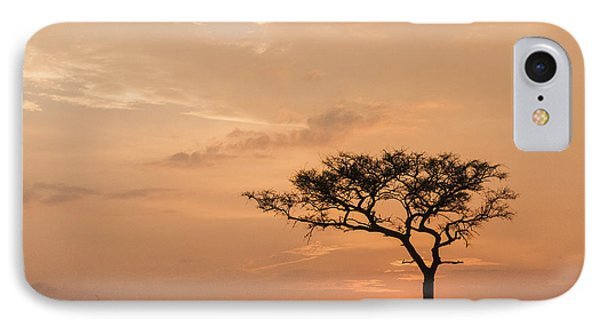 IPhone Case featuring the photograph Savannah Dawn by Phyllis Peterson