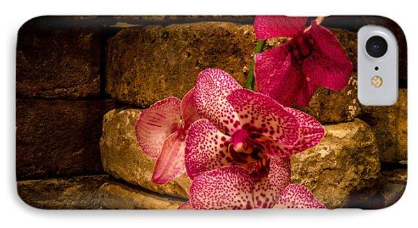 Savannah Grey Orchid Phone Case by Richard Kook