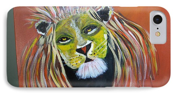 IPhone Case featuring the painting Savannah Lord by Sharyn Winters