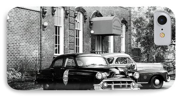 Savannah Police Station Phone Case by John Rizzuto