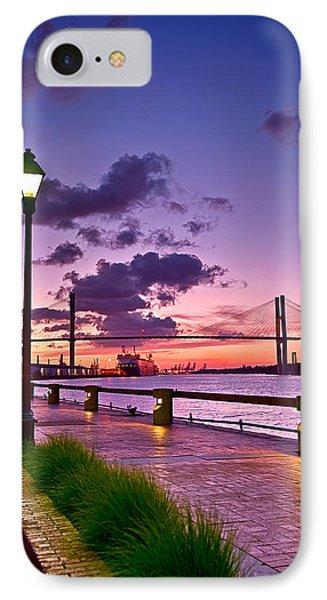 Savannah River Bridge IPhone Case