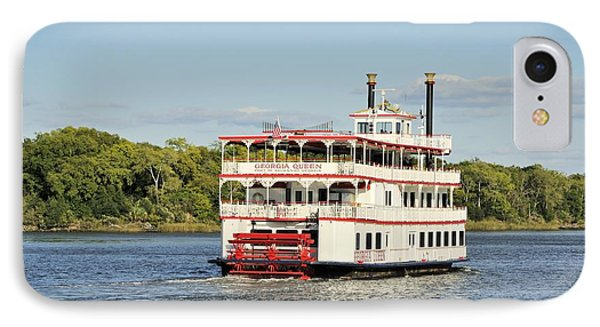 Savannah River Steamboat IPhone Case