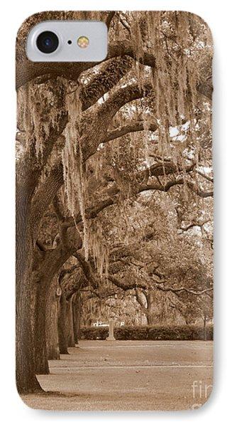 Savannah Sepia - Emmet Park Phone Case by Carol Groenen