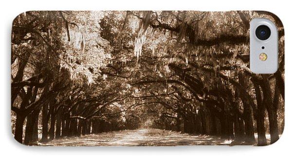 Savannah Sepia - The Old South Phone Case by Carol Groenen