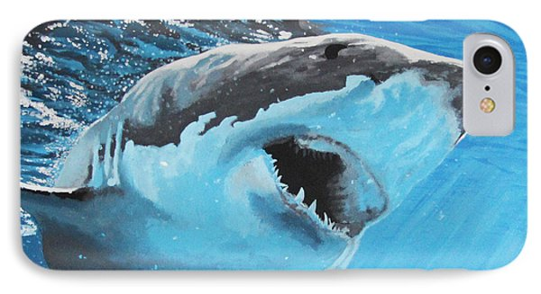 Save Our Sharks Phone Case by Robert Timmons