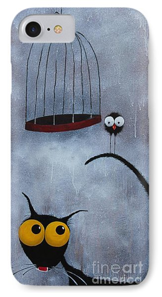 Save The Bird Phone Case by Lucia Stewart