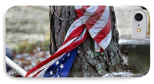 Save The Flag Phone Case by Susan Leggett