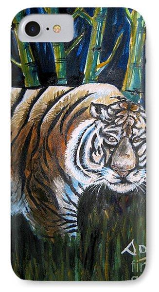 Save The Tiger Phone Case by Soumya Suguna