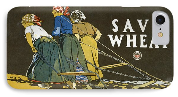 Save Wheat IPhone Case by Edward Penfield