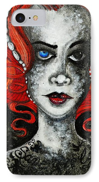 IPhone Case featuring the painting Save Your Love by Sandro Ramani