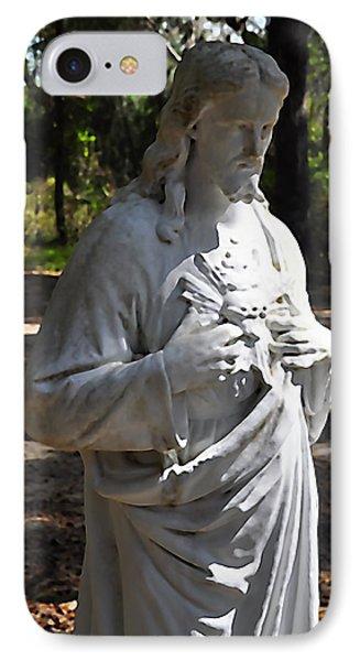 Savior Statue Phone Case by Al Powell Photography USA