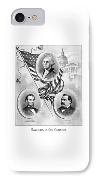 Saviours Of Our Country  IPhone Case by War Is Hell Store