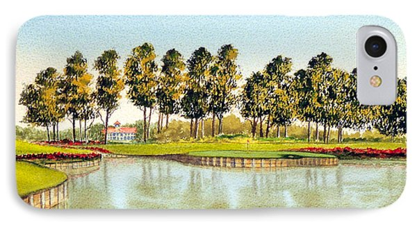 Sawgrass Tpc Golf Course 17th Hole IPhone Case