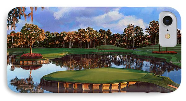 Sawgrass 17th Hole IPhone Case by Tim Gilliland