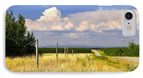 Sawmill Creek Road Phone Case by Cathy Mahnke