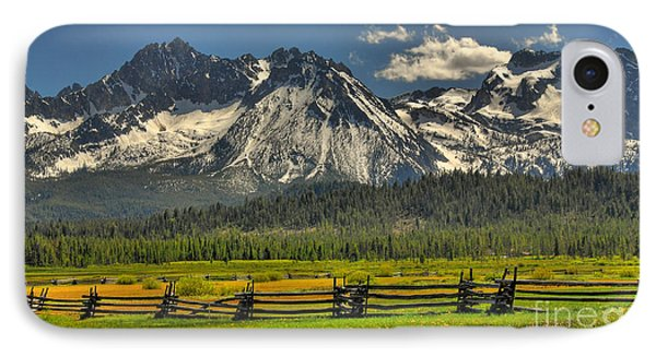 IPhone Case featuring the photograph Sawtooth Mountains by Sam Rosen
