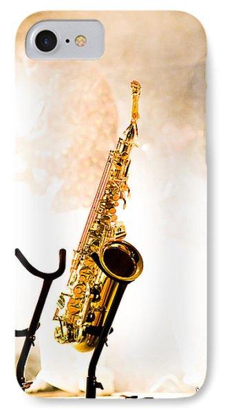 Saxophone  Phone Case by Bob Orsillo