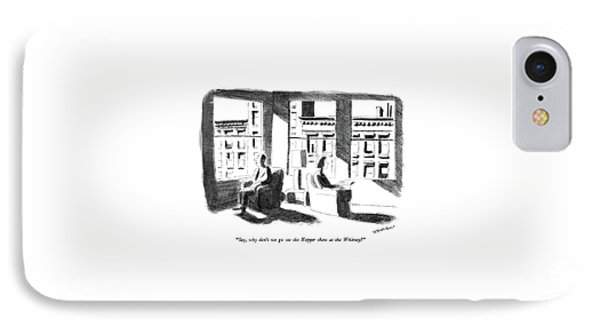 Say, Why Don't We Go See The Hopper Show IPhone Case