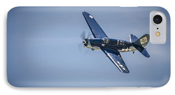 IPhone Case featuring the photograph Sb2c Helldiver by Bradley Clay